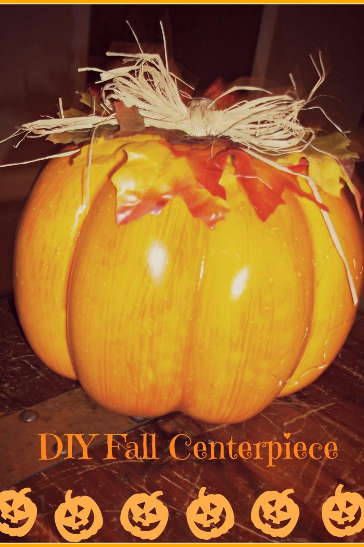 Halloween Pumpkin Centerpiece Decoration
