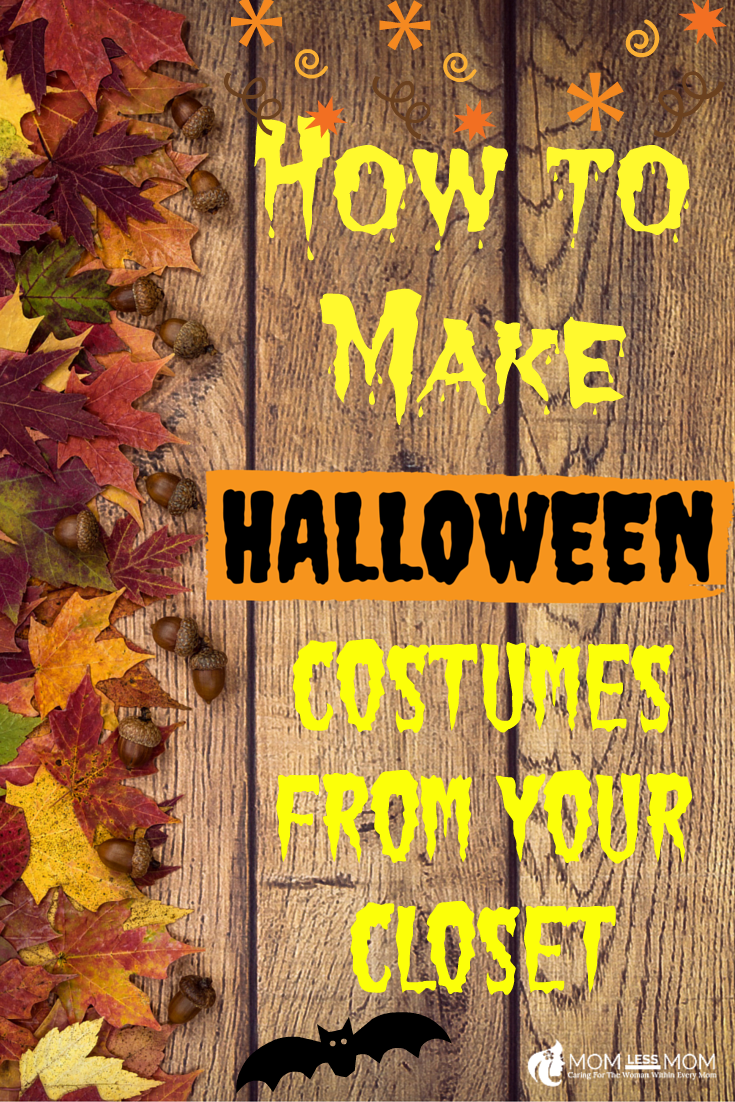 Make Halloween Costumes from Closet