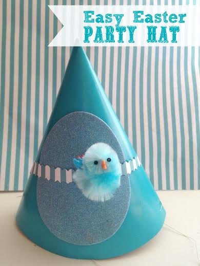 Easy Easter Craft- Party Hat