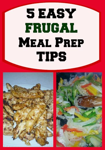 5 Easy Meal Ideas and Prep tips