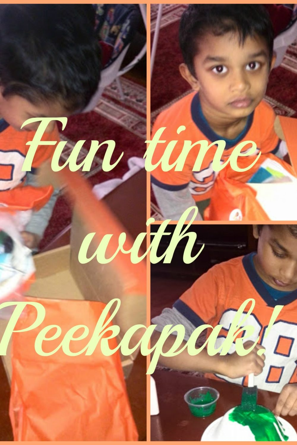 Cool Craft Ideas from Peekapak Monthly subscription Box