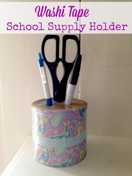 Back to School Supplies DIY