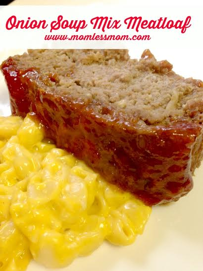 Onion Soup Meatloaf