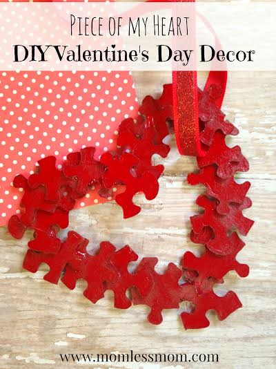 Kids Valentine Day Crafts-DIY Heart Decor