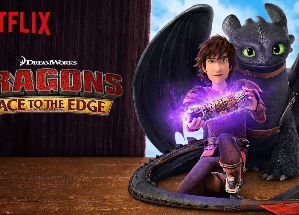 Dragons, Race to the Edge-Netflix Original