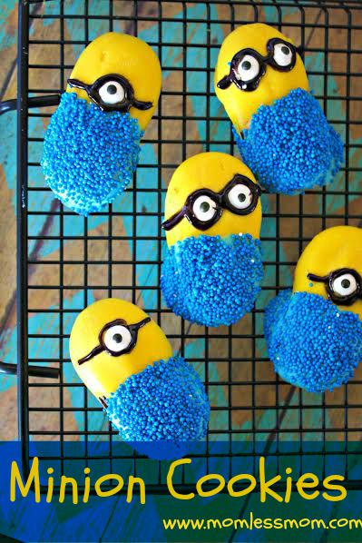 Minion Cookies Recipe