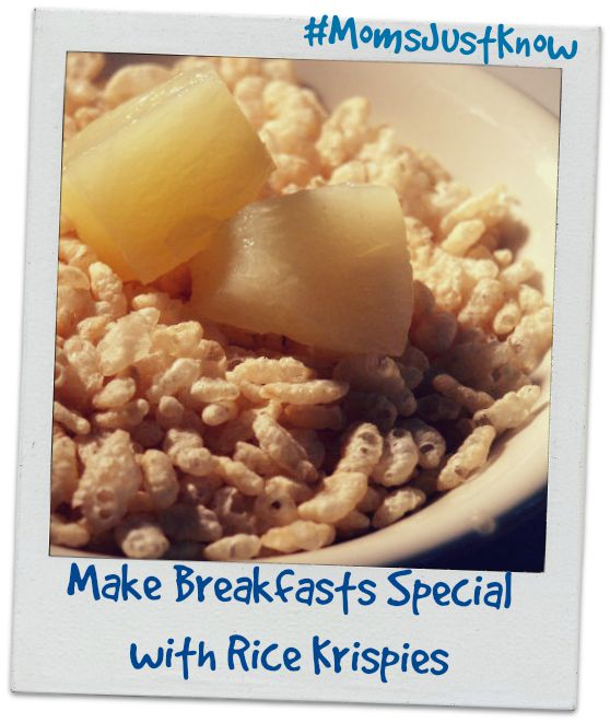 Make Breakfasts Special with Rice Krispies Cereal