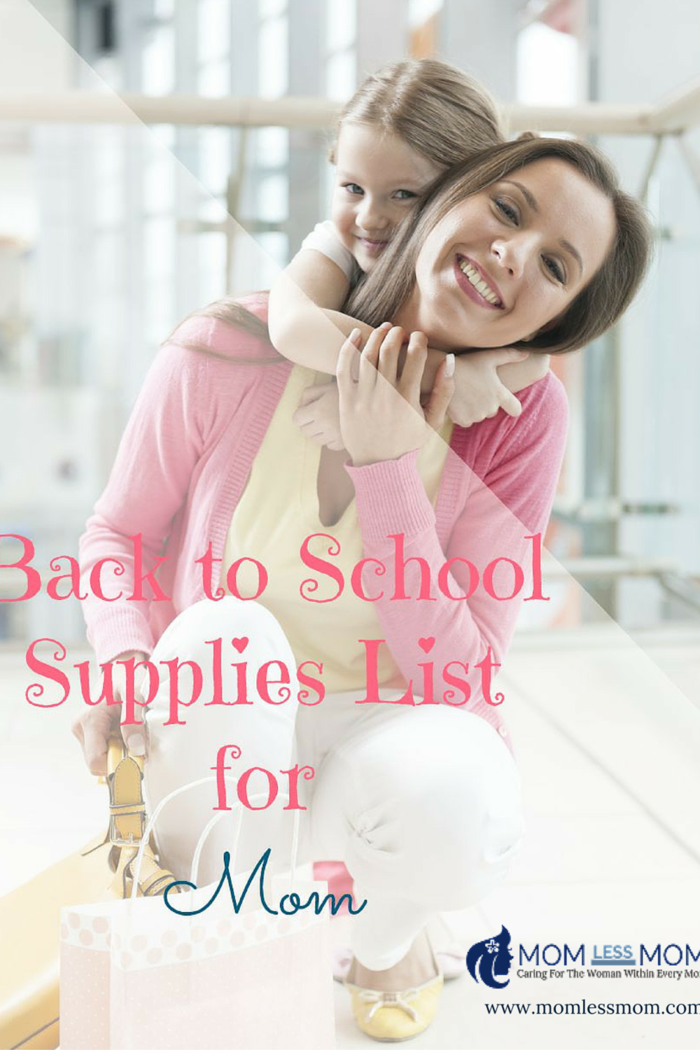 Back to School Supplies List for Moms
