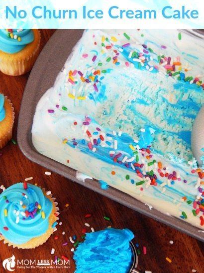 Homemade Ice cream cake recipes