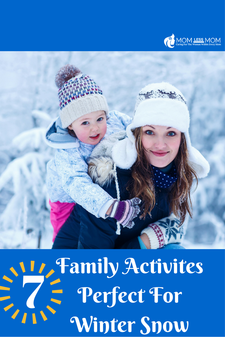 7 Family Activites Perfect For Winter Snow
