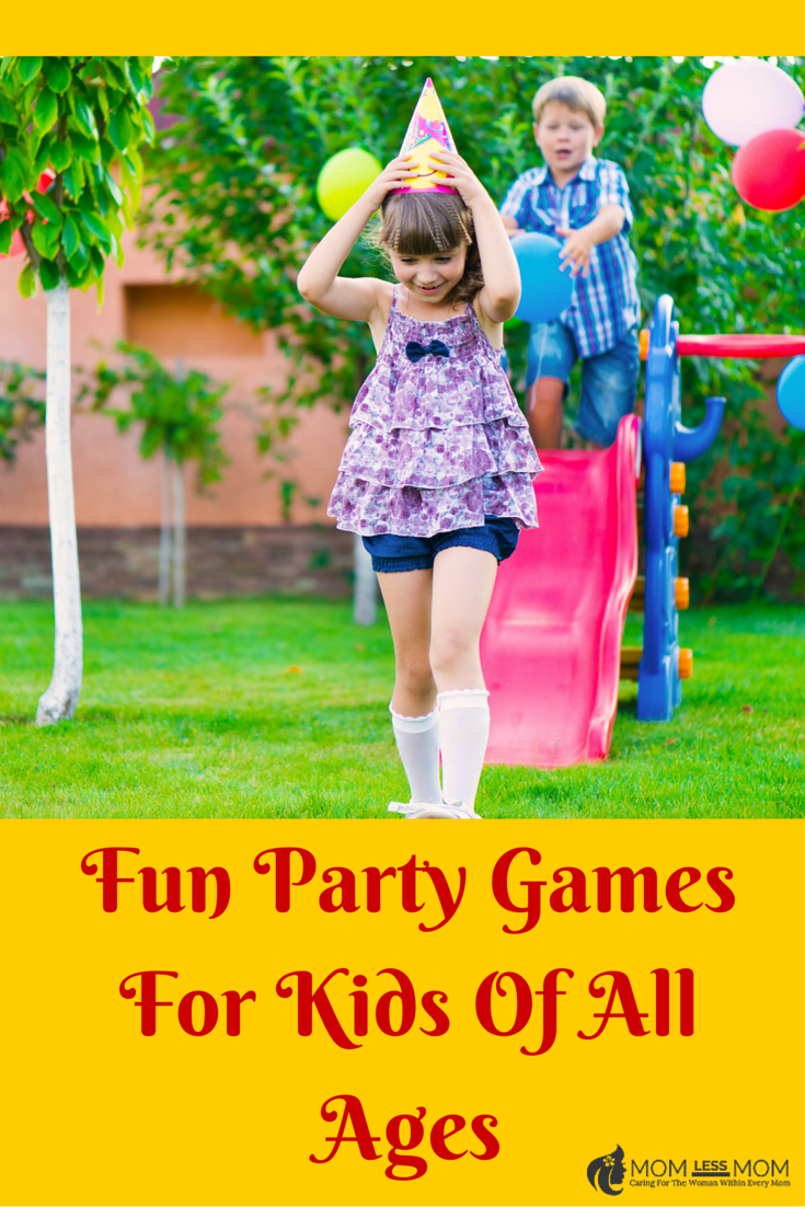 Fun Party Games For Kids Of All Ages