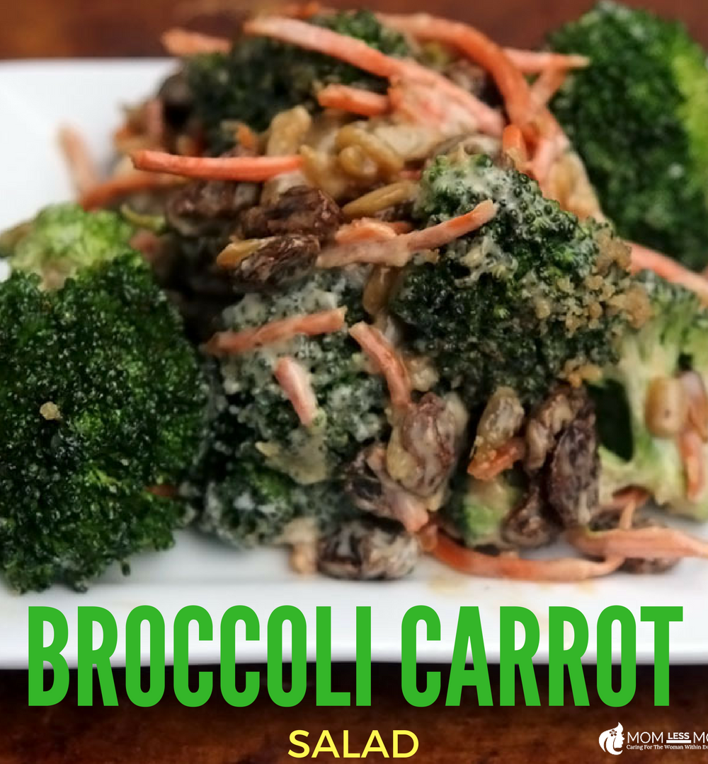 Broccoli Carrot Salad Recipe