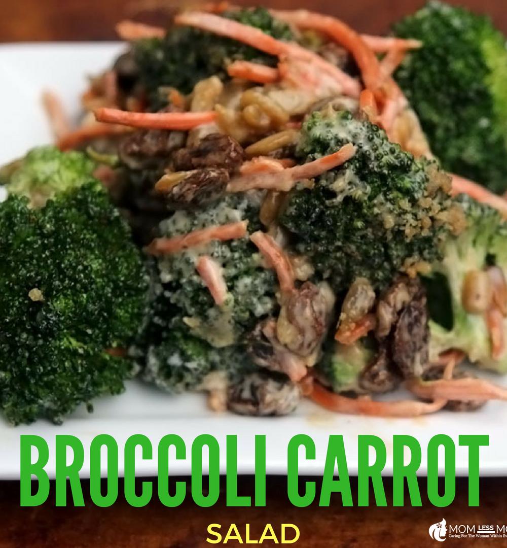 Broccoli Carrot Salad Recipe