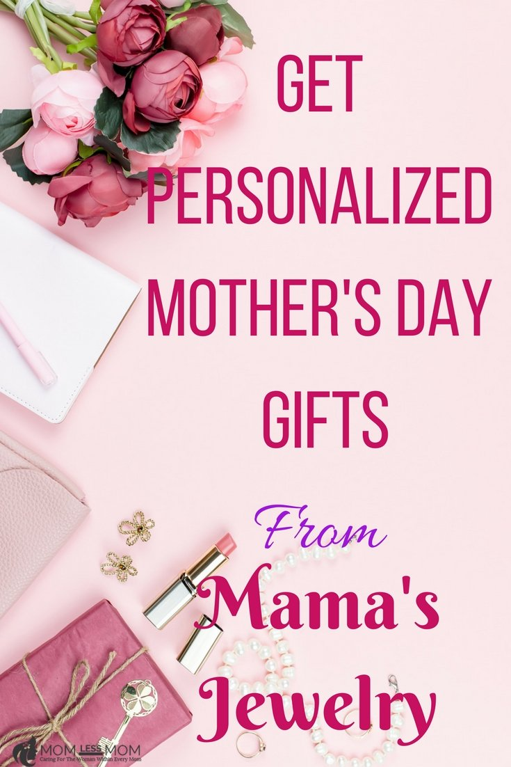 This year, shop for Mother\'s day personalized gifts at Mama\'s Jewelry. Your Mom will truly appreciate the thoughtfulness. Best place for online Mother\'s day gifts! #Mothersday #BestMothersdaygift #mothersdaygiftideas
