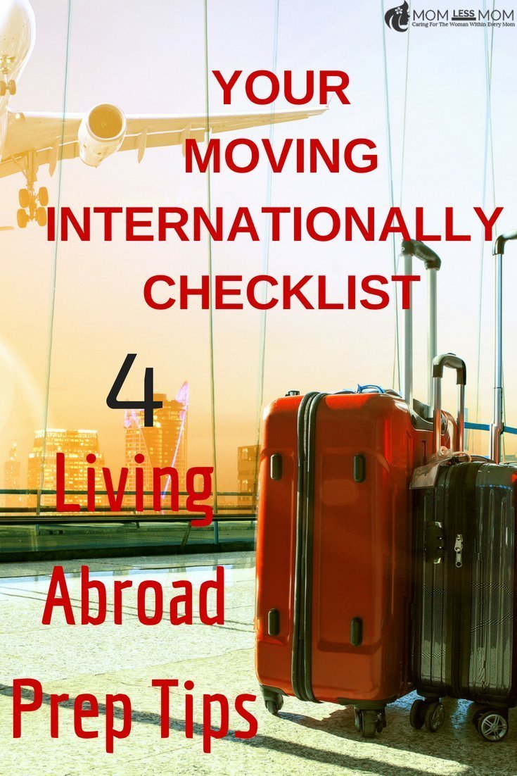 If you are considering living abroad and wondering about a moving internationally checklist (IF there is such a thing), bookmark this page for helpful tips. How to move to another country permanently requires a lot of thought and prep. #Traveltips #livingabroad