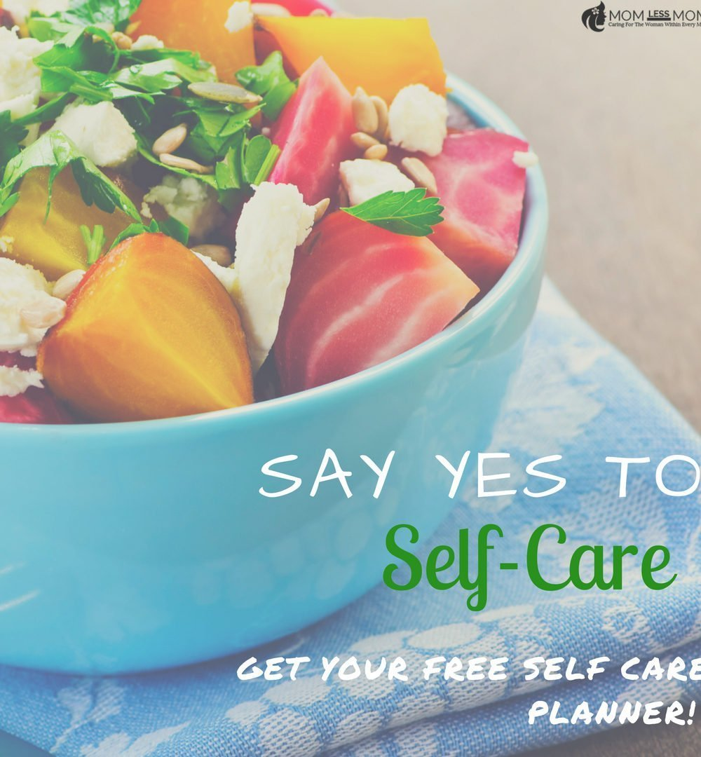 create a self care routine with a self care planner