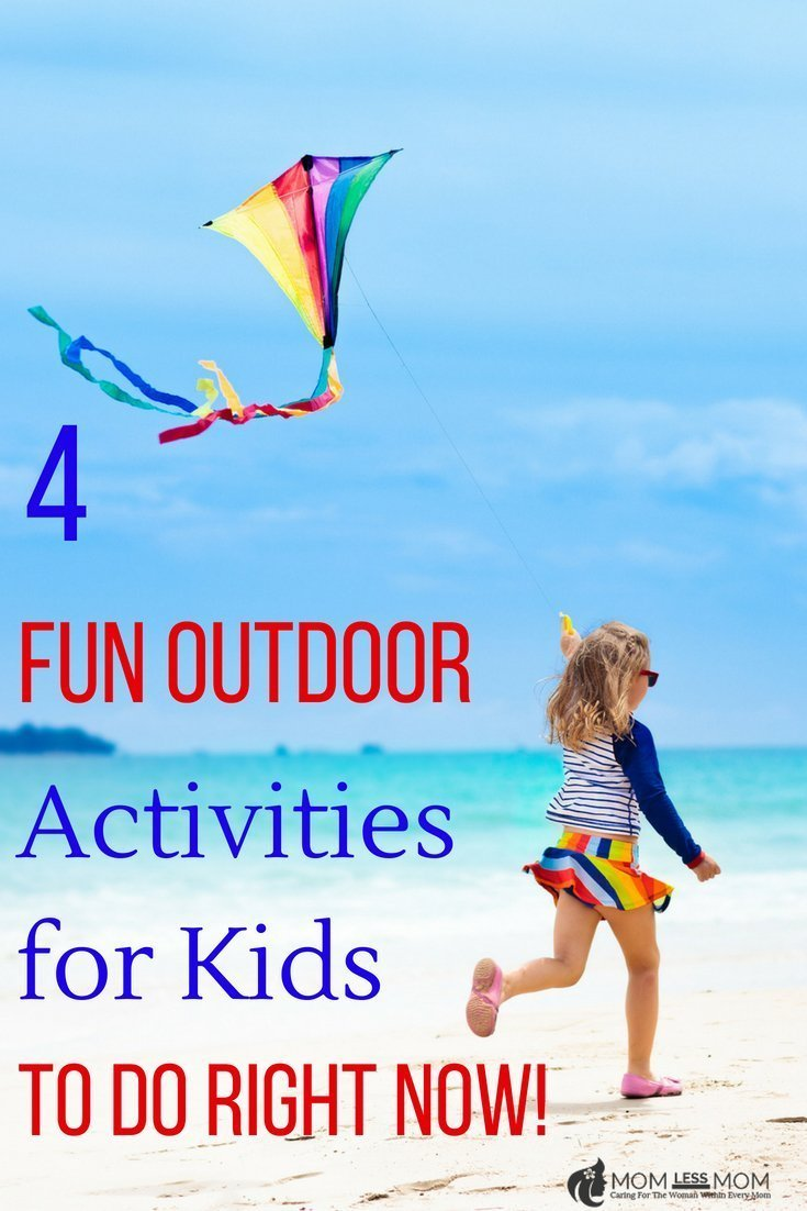 Squeeze the last drop of summer with these 4 outdoor activity ideas for kids! Great for enjoying the weather, quality bonding time and promotion of active living! Win win!  #summerfunactivities