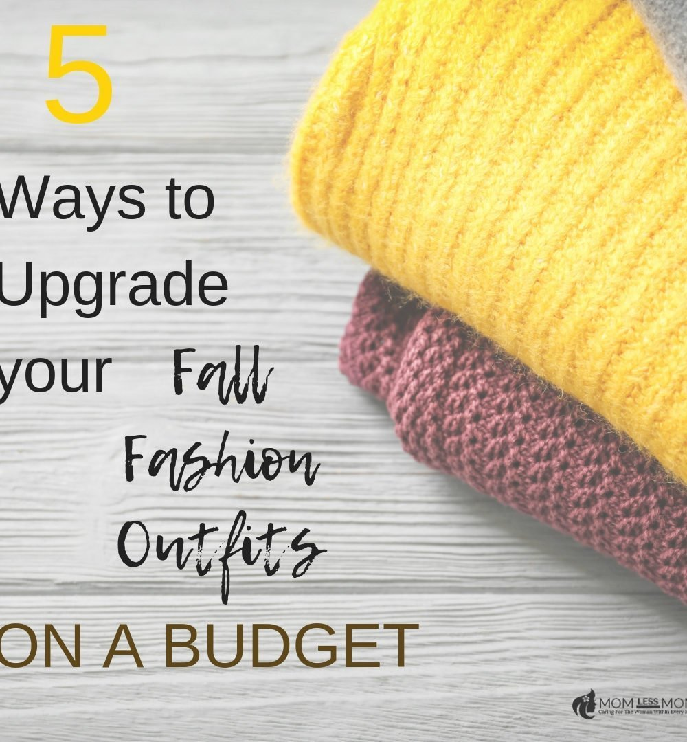 How to put together a stunning line of fall fashion outfits this year on a budget!