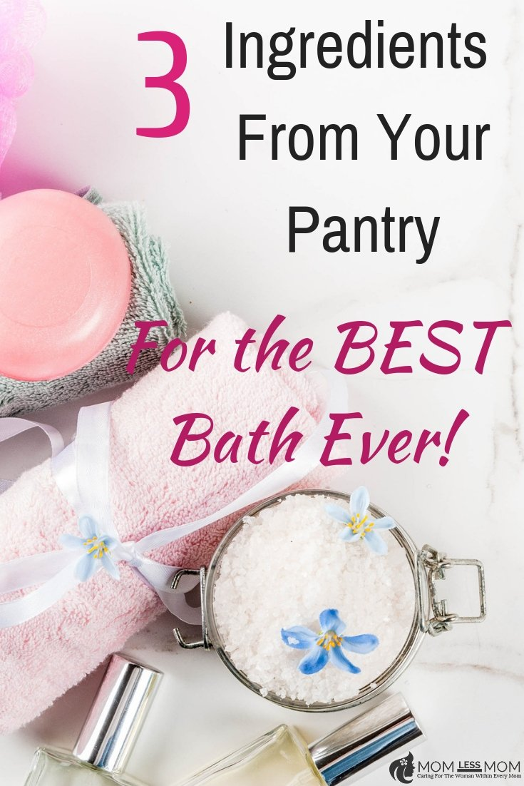 Get a warm and relaxing bath that is of spa quality with these relaxing bath recipe ideas! Best #selfcare activity #relaxingbath