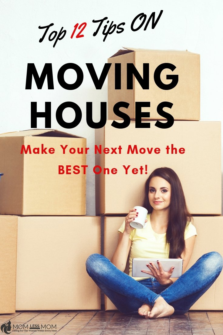 Your Top 12 Tips on Moving Houses