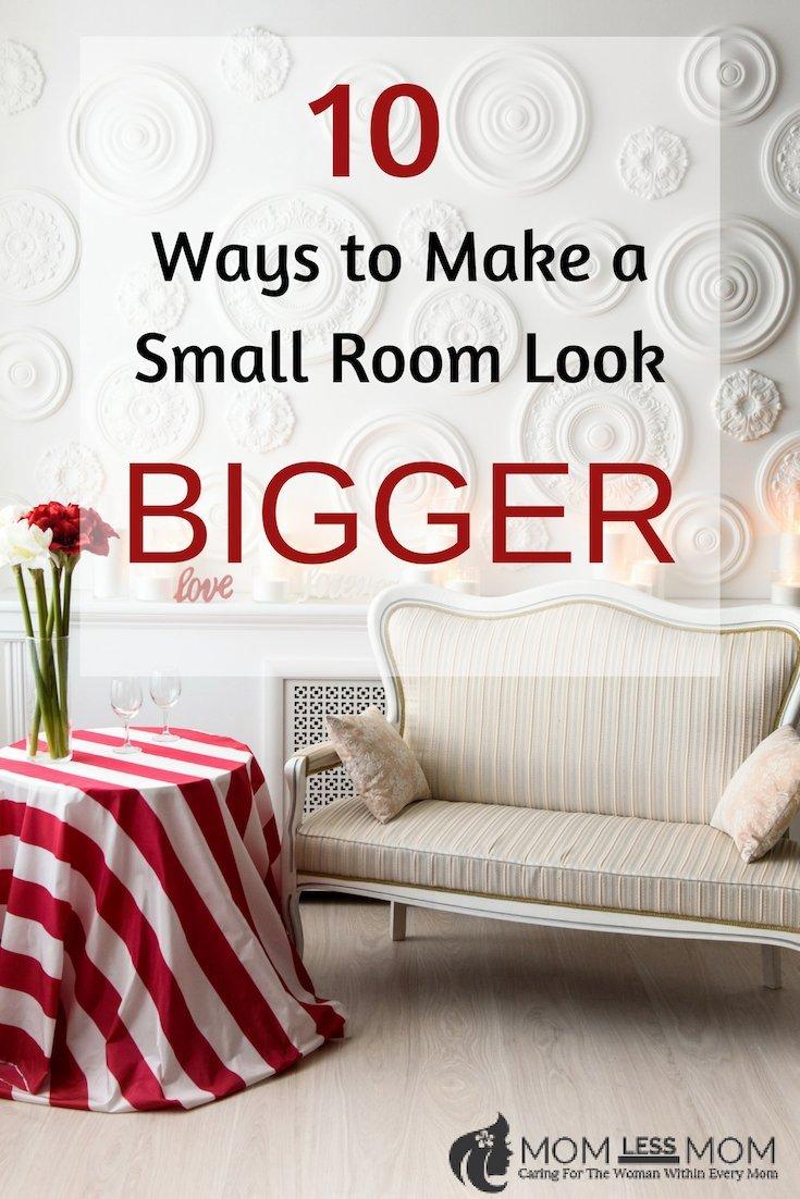 10 Ways to Make a Petite Room Look Bigger