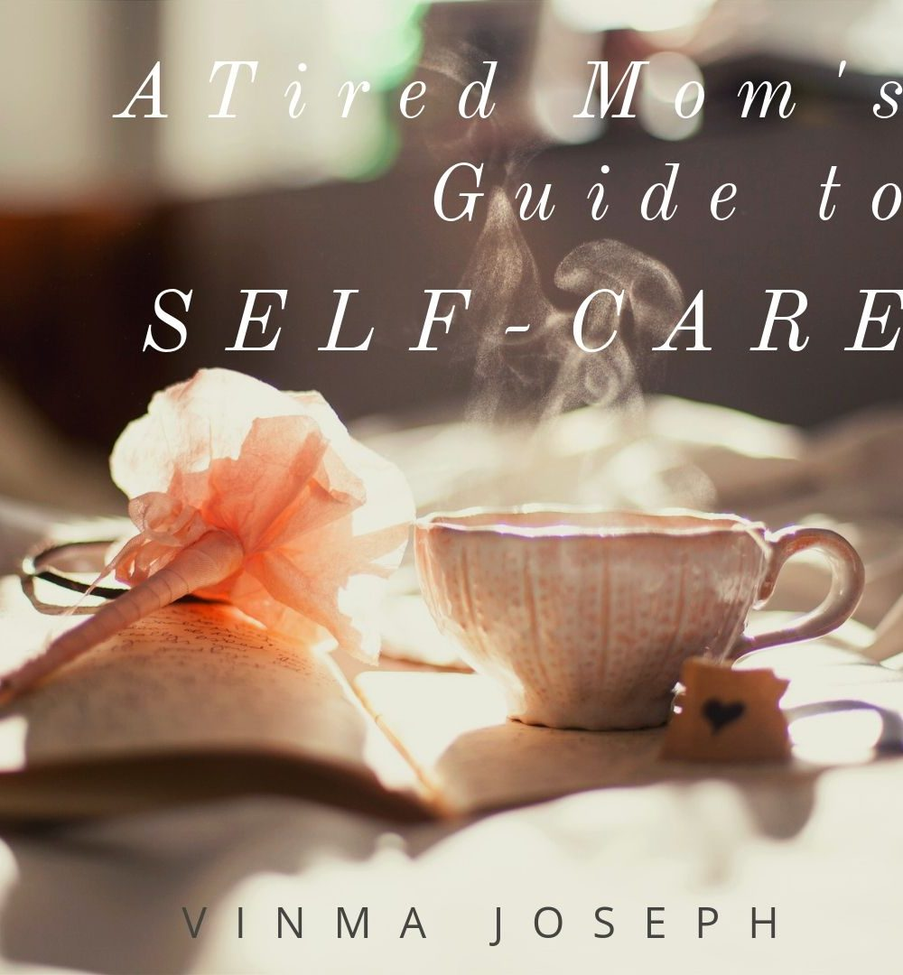 Self-care book for moms