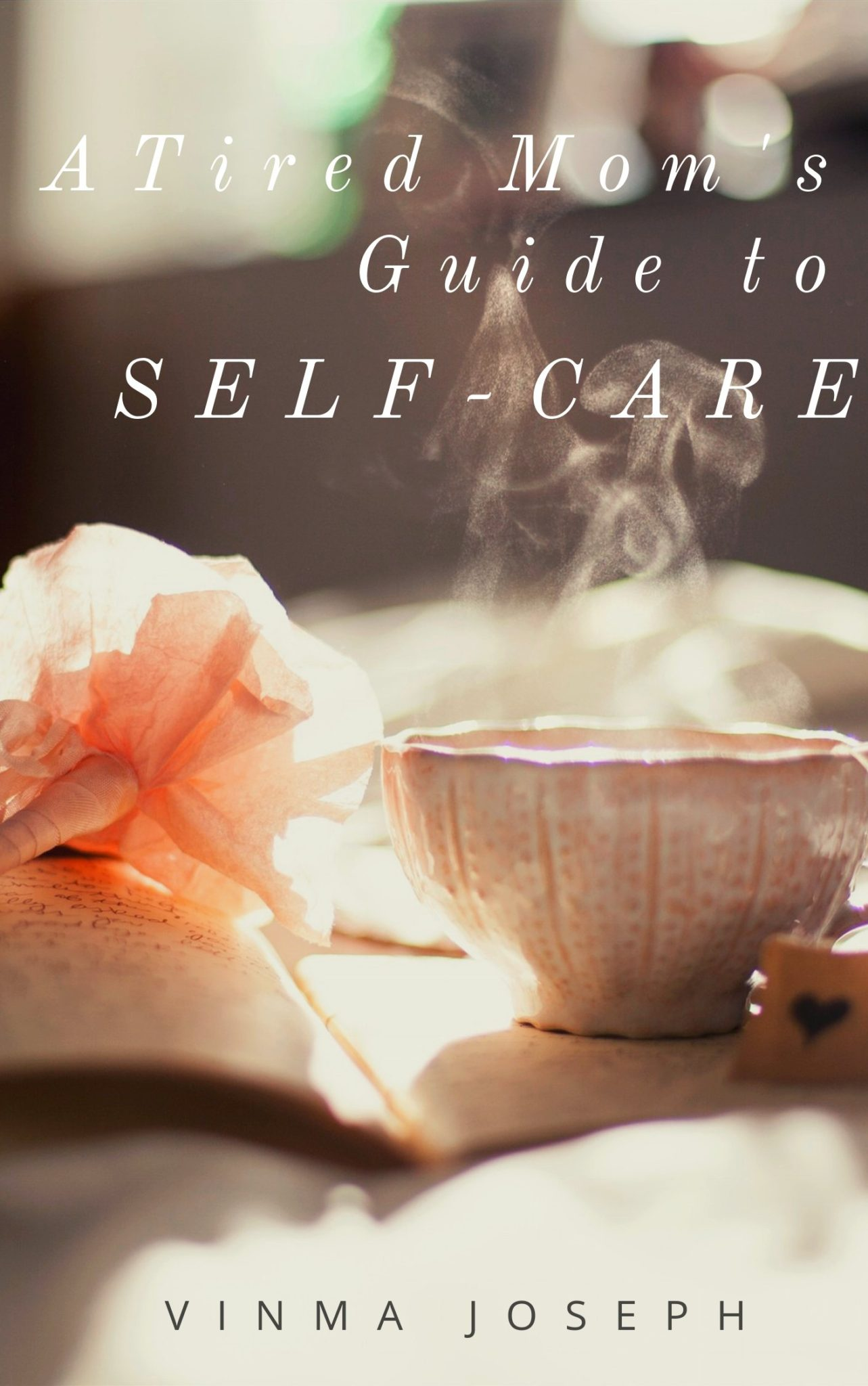 A Tired Mom\'s Guide to Self-Care is jampacked with actionable tips that will help you steer the ship of Motherhood with resilience, mindfulness, and self-love that you were lacking for so long! #ebook #selfhelp