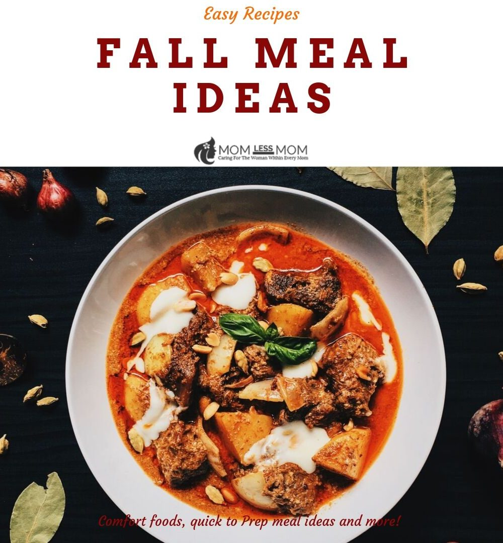Fall food recipes round up