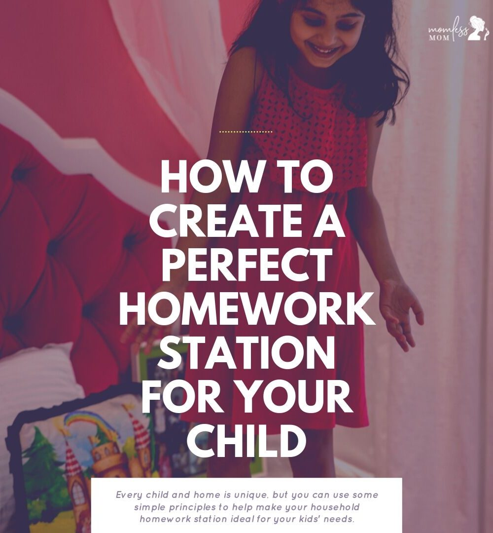 how to create a perfect homework station