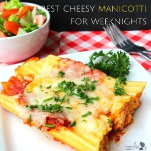 Best recipe for Manicotti