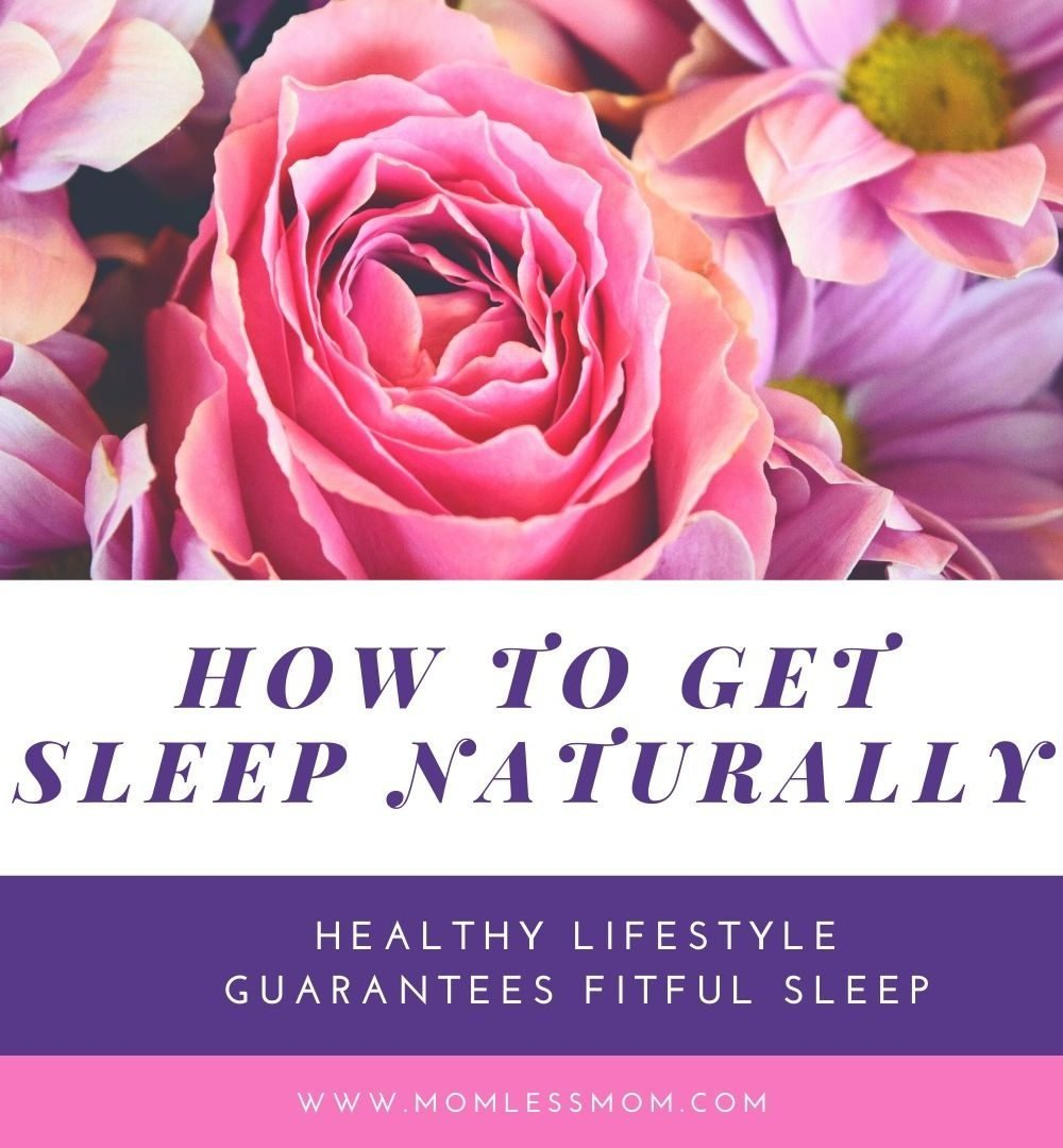 how to get sleep naturally