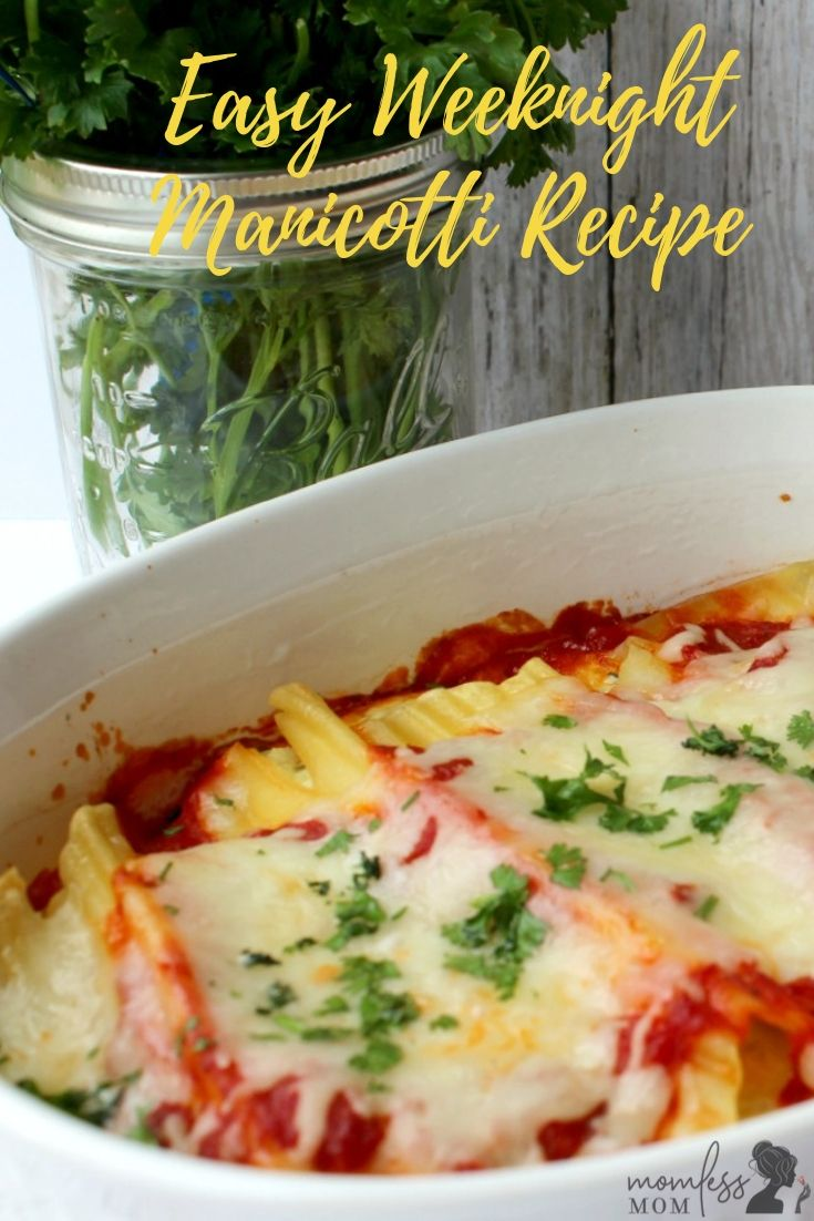 This best recipe for manicotti is great if you are looking for a meatless version. Quite easy to make and clearly a winner at the dinner table! #recipes #easymanicotti