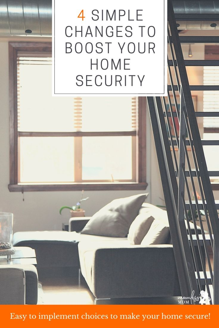 Simple changes to boost your home security