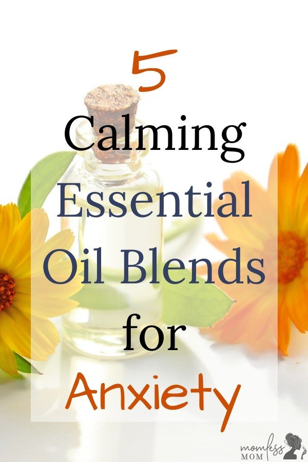 calming essential oil blends for anxiety and depression