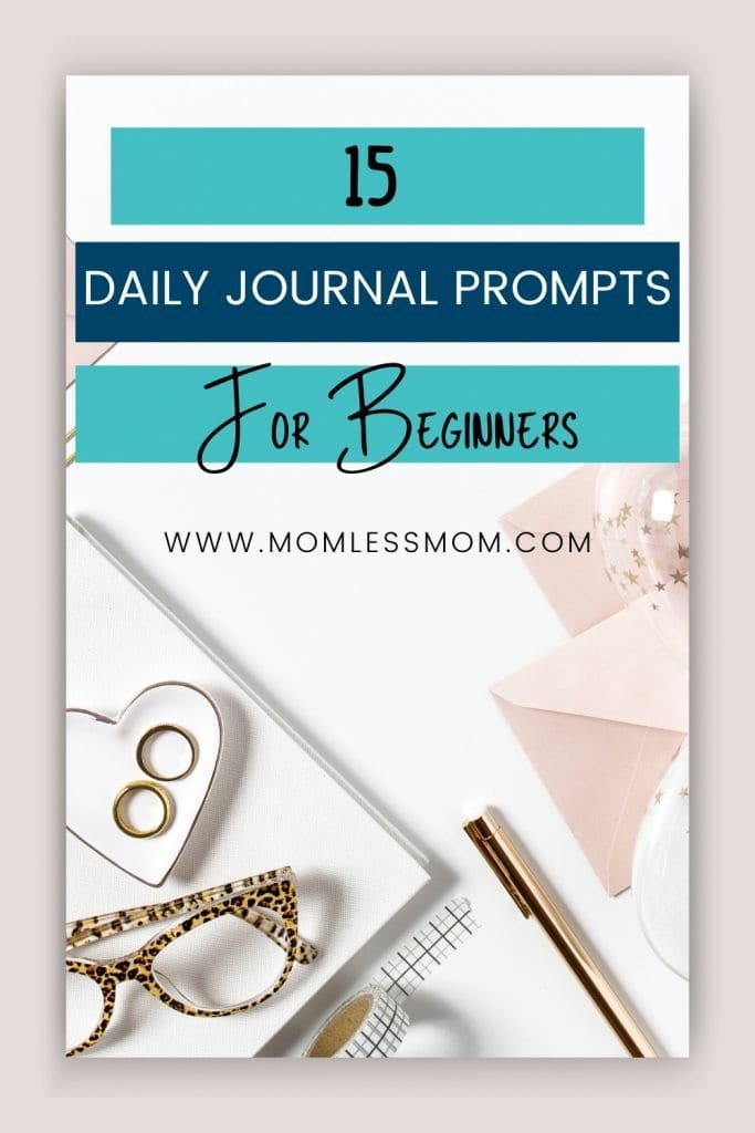 Daily Journal Prompts for Depression
