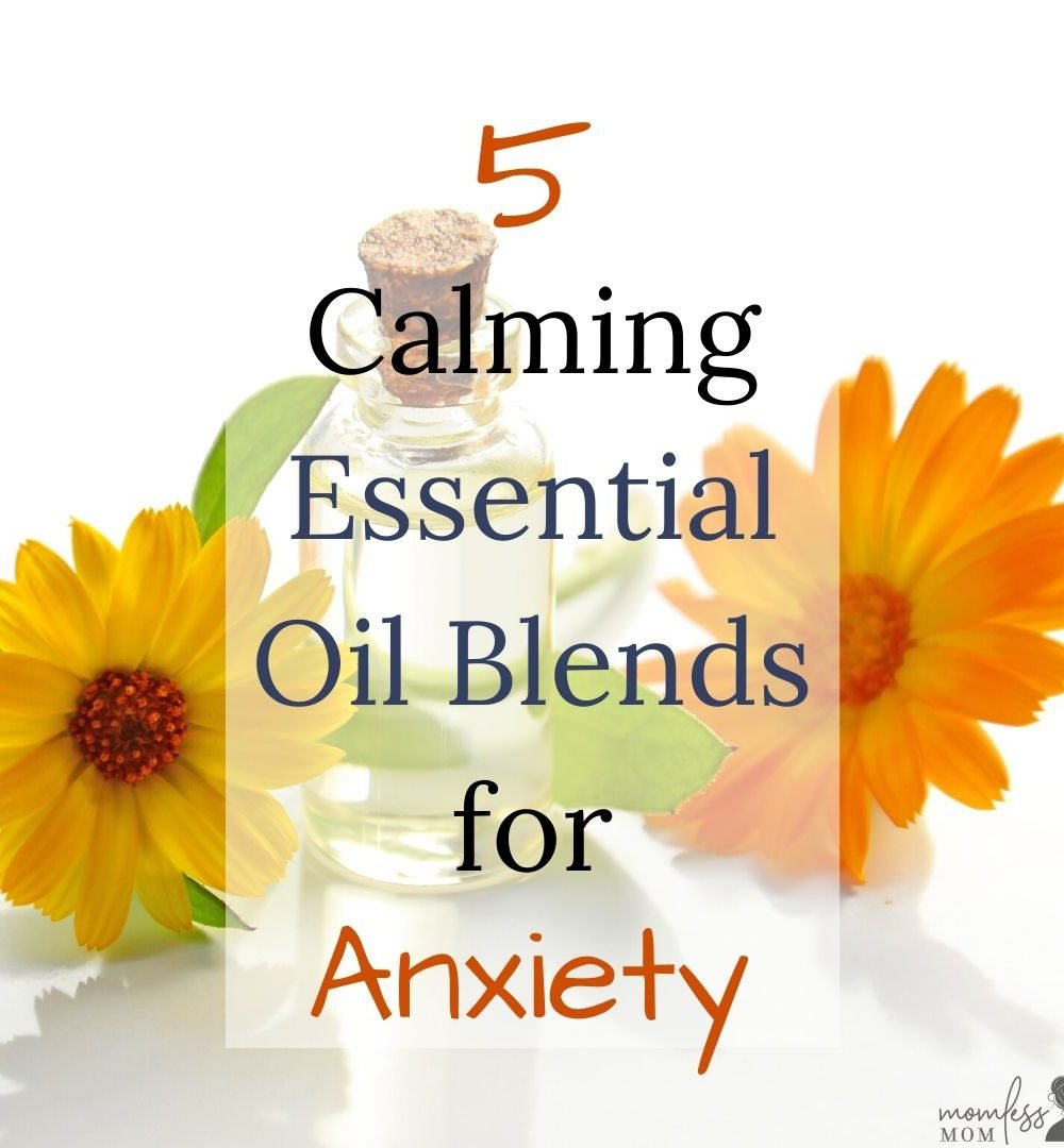 essential oil blends for anxiety and depression