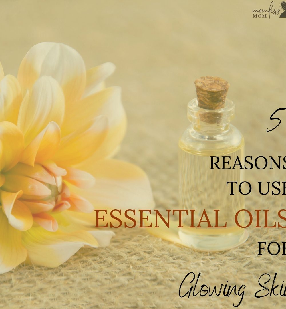 use essential oils for glowing skin