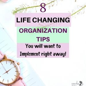 organization ideas for better life