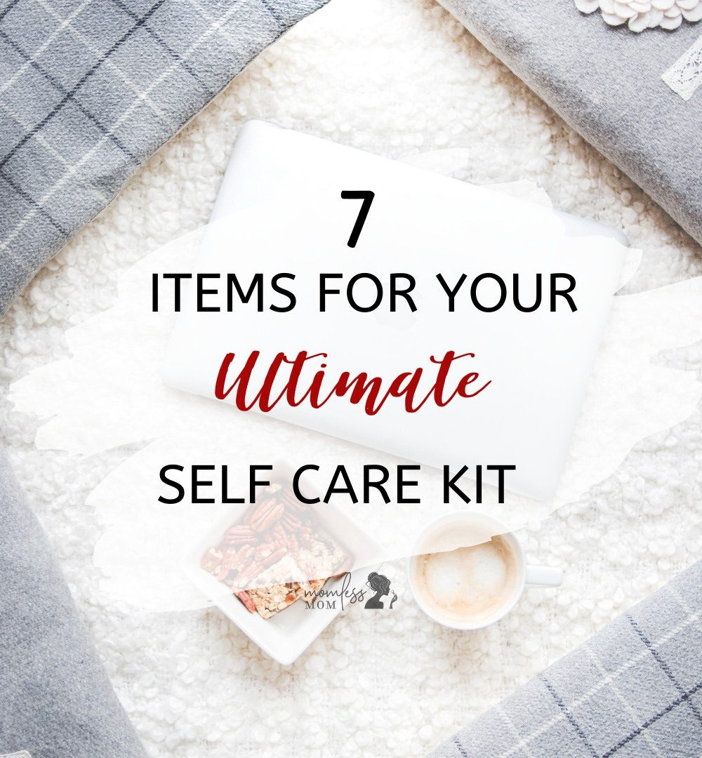 create a self care kit with 7 items