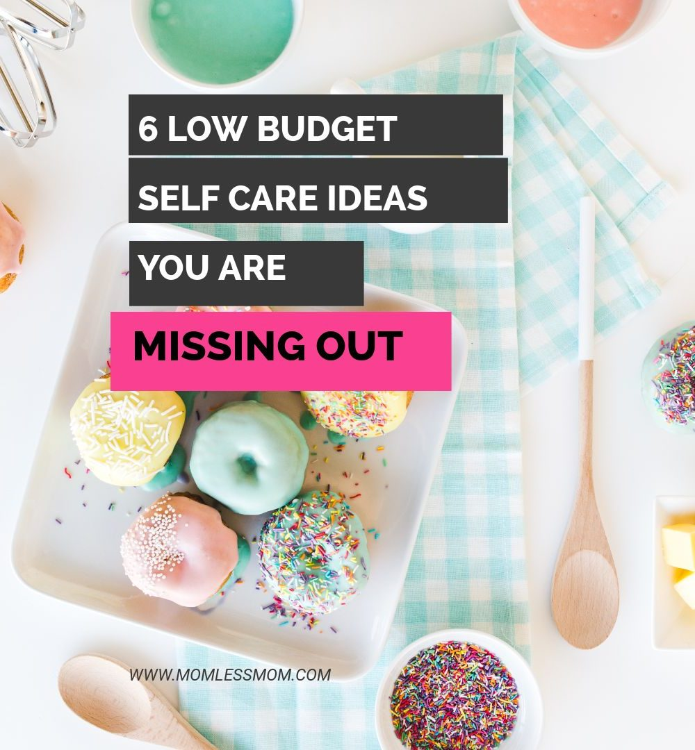 low budget self care ideas