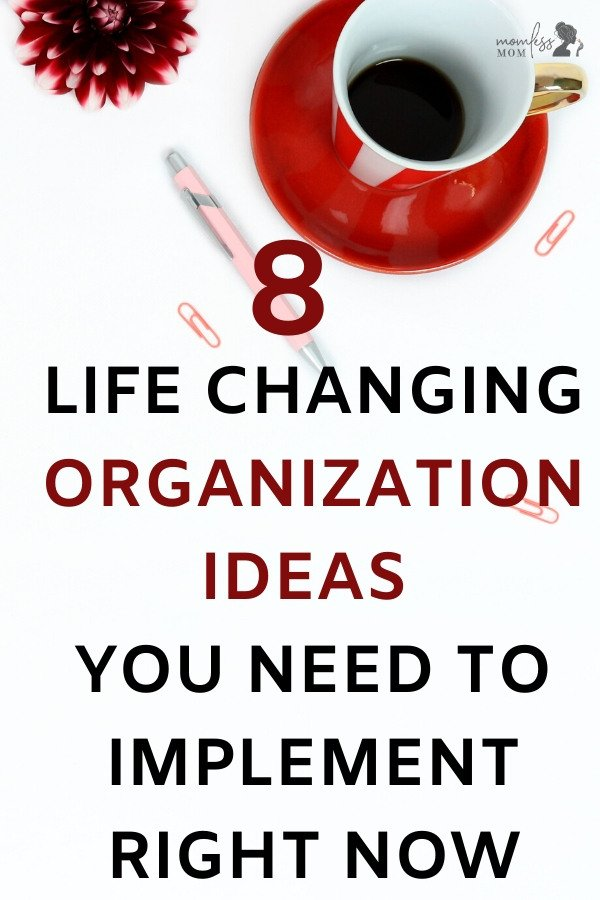 Taking control of your life and being organized is going to make you feel much better in general. So if you're looking at ways that you can help organize your life, here are some helpful tips. #organizationtips #organizationhacks
