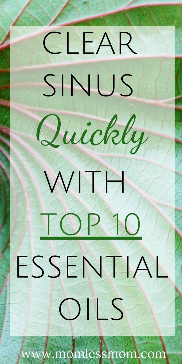 Top 10 Essential Oils for Sinus