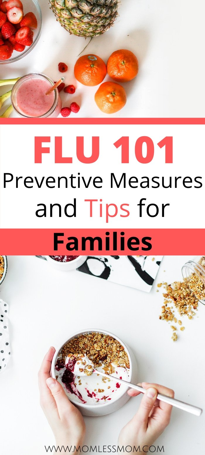 These flu tips will help you stay on track with practicing healthy lifestyle in no time! #fluseason #coldandflu #healhtyliving
