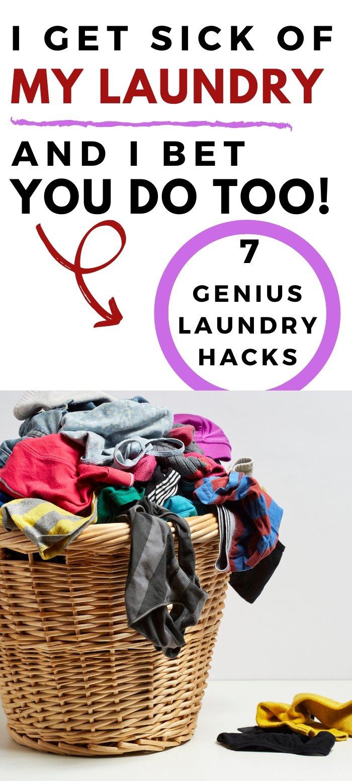 Genius laundry hacks