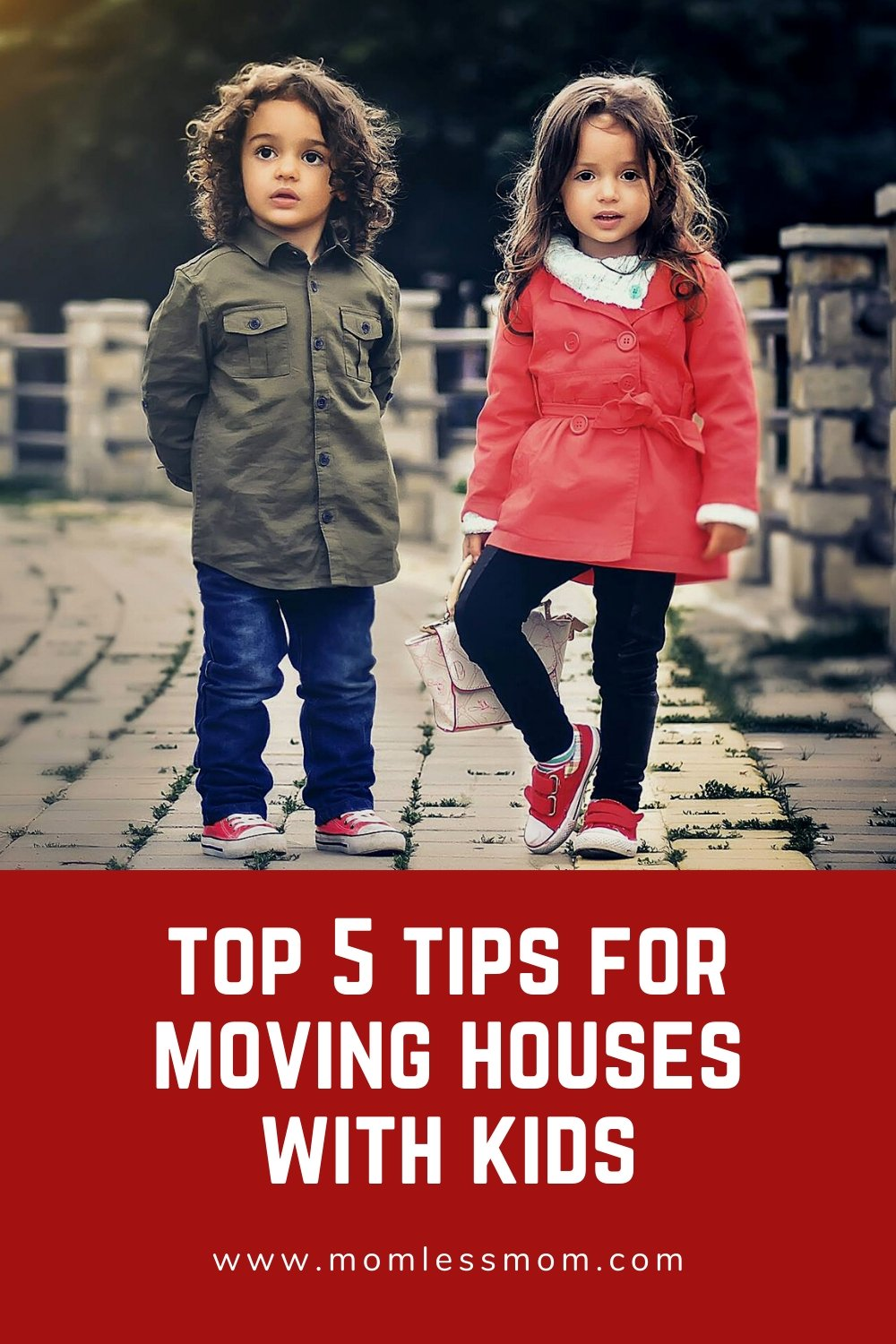 Top 5 Tips for Moving Houses with Kids
