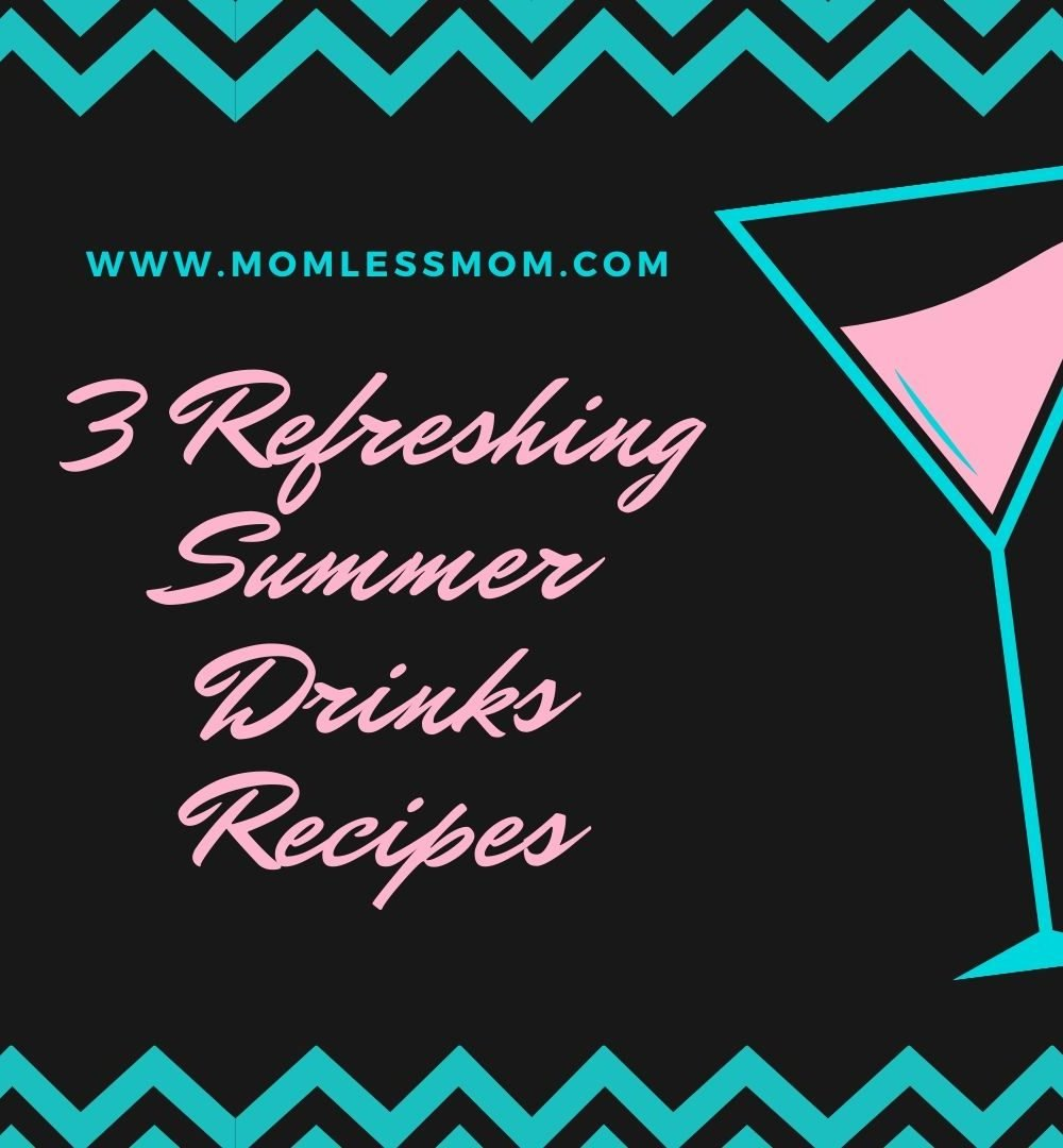 3 Refreshing summer drinks recipes
