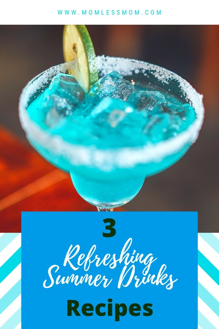 3 Refreshing summer drinks recipes