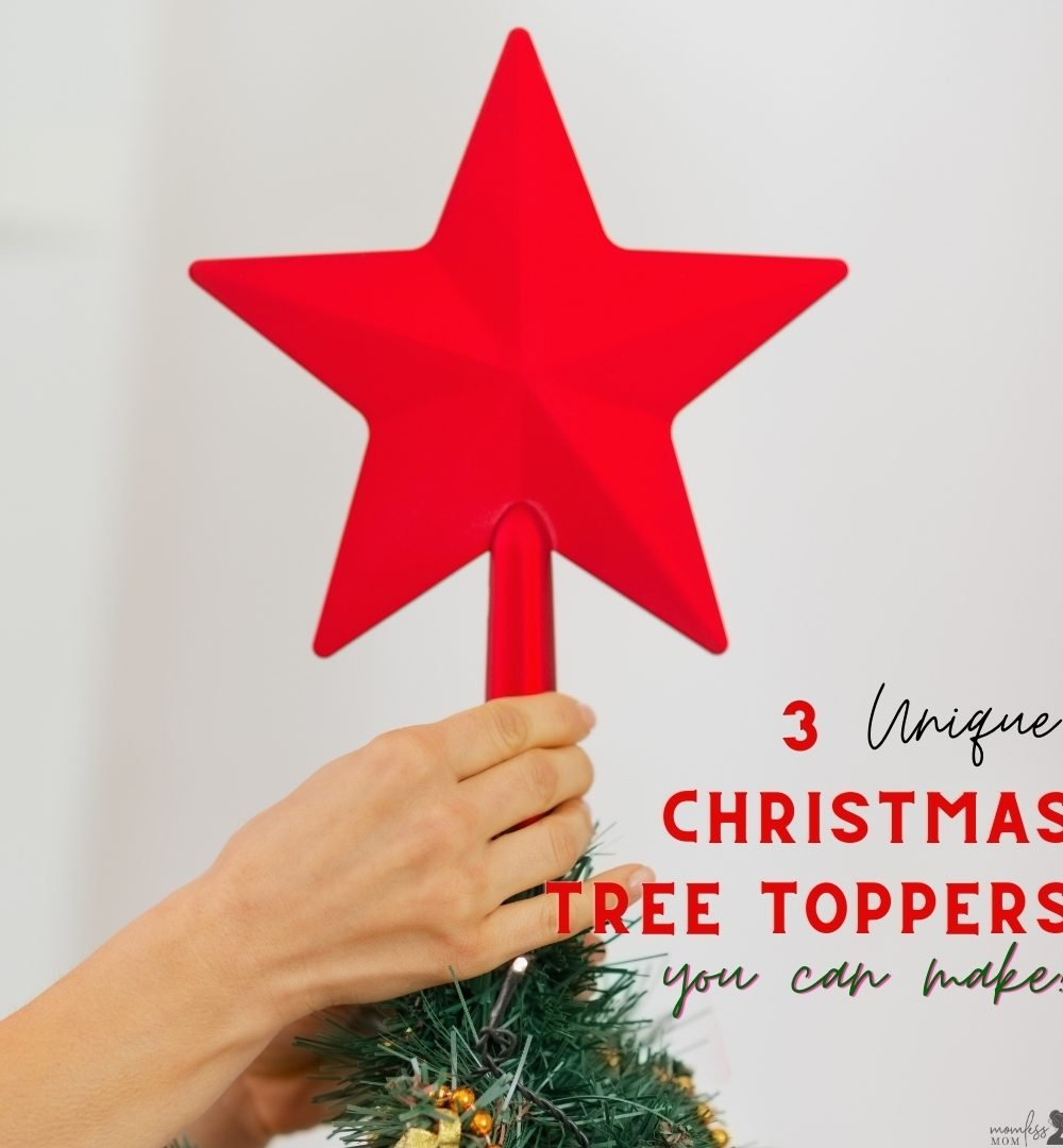 3 DIY Christmas Tree Toppers