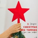 3 Unique Christmas Tree Toppers You can Make