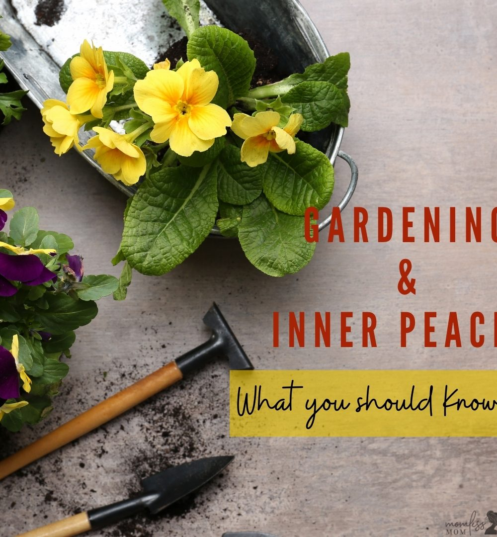 Create inner peace with gardening tips